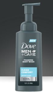 $1.25 off Dove Men Care Foaming Body Wash Coupon on http://hunt4freebies.com/coupons