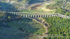 A Terceira Dimensão - Fotografia Aérea: Aqueduto dos Pegões