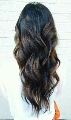 Balayage wavy hair #gorgeoushair