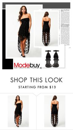 """""""Modebuy I/9"""" by amra-mak ❤ liked on Polyvore featuring modebuy"""