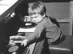 DJ Alan, Bolton Recreation Centre, 1970.