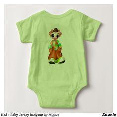 Ned + Baby Jersey Bodysuit