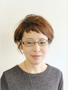 ラトリエコンタン(L´atelier Content)【L`atelier Content YUMI】短めショートボブ Unique Hair Cuts, Asian Haircut, Unique Hairstyles, Short Cuts, Hair Inspiration, Bangs, Pixie, Short Hair Styles, Hair Makeup