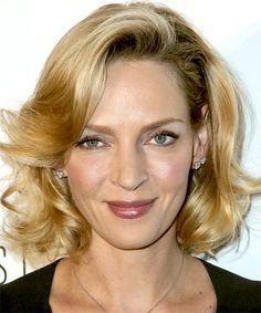 Image result for uma thurman hair