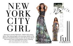 """""""Full Contrast by Kelli Couture"""" by kelli-couture ❤ liked on Polyvore"""