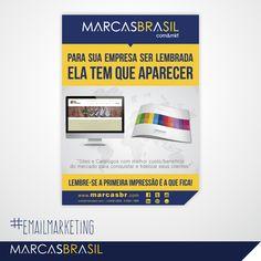 E-mail Marketing – Marcas Brasil > Desenvolvimento de e-mail marketing para a empresa Marcas Brasil < #emailmkt #marcasbrasil #agenciamkt #publicidadeamericana