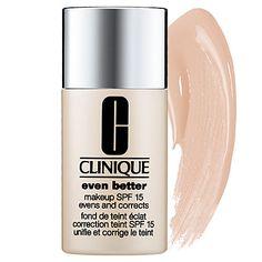 Even Better Makeup SPF 15  ITEM # 1151166  COLOR Beige-beige pink shade/ for medium skin tones with neutral undertones  QTY  C$31.00