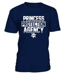 Mens Princess Protection Agency Dad T Shirt  Funny Air Force Birthday T-shirt, Best Air Force Birthday T-shirt