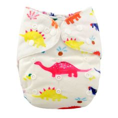 Baby Reusable & Washable & Adjustable Dino Dance Pocket Diaper, 20% discount @ PatPat Mom Baby Shopping App