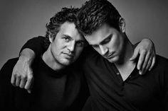 Matt Bomer and Mark Ruffalo,  stunning picture!