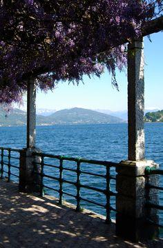 """cityhopper2: """" Arona, Lago Maggiore, Novara, April 2009, Italy photography by cityhopper2 """""""