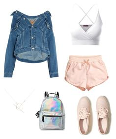 """Comfy"" by louiza-ap on Polyvore featuring Doublju, H&M, Balenciaga, Hollister Co., A Weathered Penny and IMoshion"
