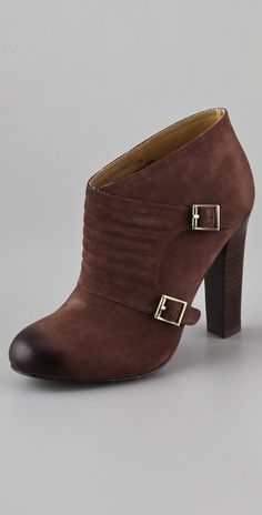 Candela Quilted Monk Strap Booties thestylecure.com