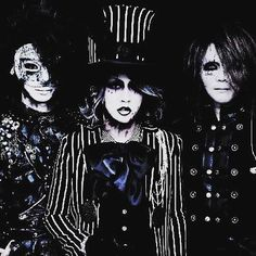 Ruki, Reita and Kai