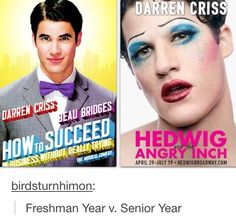 Darren Criss while I was in High School! He is so talented!! I love it!