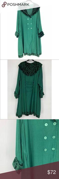 "a941f998d50 Holy Clothing Kelly Coat Holy Clothing ""Kelly"" coat in green"