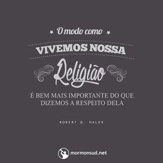 """Nosso Salvador disse incontáveis vezes: """"Vem e Segue-me"""" não; """"Vá e faça""""! Acesse: http://mormonsud.net"""