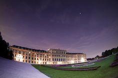 Schönbrunn at Dusk #vienna #austria #schönbrunn #palace