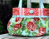 Short & Sassy pleated handbag pattern