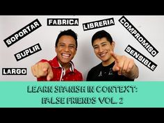 Learn Spanish: False Friends Vol. 2 Used in Context | With subtitles (EN...