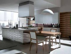 Modern Kitchen And Chairs - Probleu.Co