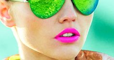 {Via} {Via} {Via} {Via} {Via} {Via} {Via} {Via} {Via} Yay or nay? This is definitely a trend that requires a little courage! I've always been a fan of bold makeup, so this neon trend makes … Mirrored Sunglasses, Sunglasses Women, Verde Neon, Plus Size Inspiration, Pink Lipsticks, Vegan Friendly, Cruelty Free, Color Splash, Funny Tshirts