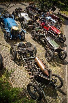 """""""Edwardian"""" pre-1920 racers"""