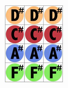 Camille's Primary Ideas: Make-Your-Own-Handbell Chart
