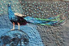 street art |  triangulo dorado