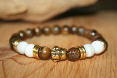 Tiger Eye Bracelet Mens Bracelet Zen Gifts Healing par ZenDeLux