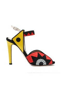 Chrissie Morris spring 2014 shoes