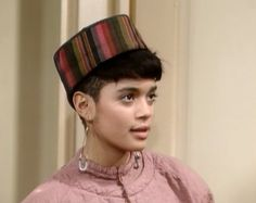 The coolest hats like EVER: | 23 Looks That Only Denise Huxtable Can Pull Off