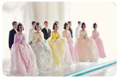 vintage wedding toppers (prom?)