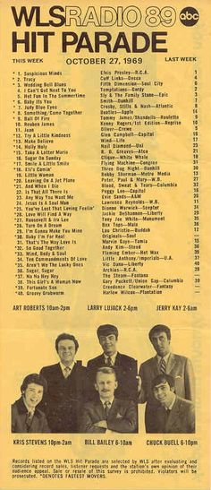 rtl-wls-10_27_69a 60s Music, Music Songs, Kinds Of Music, I Love Music, Top Music Hits, Music Charts, Song List, The Good Old Days, My Favorite Music