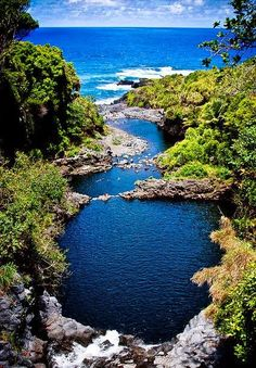 Seven Sacred Pools, Maui, Hawaii