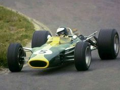 1967 Dutch GP, Zandvoort : Jim Clark, Lotus-Ford 49 #5, Team Lotus, Winner (ph: © Watson)