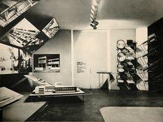 Herbert Bayer. Exhibition, Deutscher Werkbund, Paris, 1930!