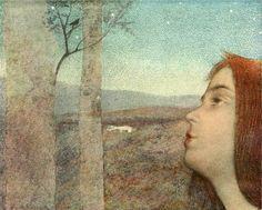 Alexandre de Riquer, The Bird Call