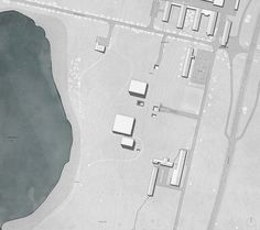 Master Thesis Project// The Royal Danish Academy of Architecture// Nuclear Waste Facility, Risø, Denmark
