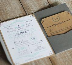 diy rustic chic wedding invitations free printable template mountainmodernlife.com