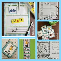 All In the Family (The Word Family That Is) and a Freebie to Get you Started. Using Word Families!!!