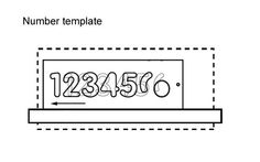 lettering templates make routing letters easier cutting letters with a wonkee donkee trend router and template