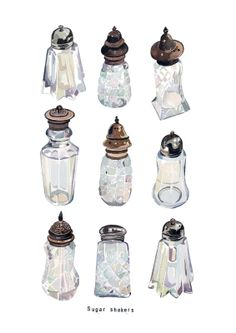 Holly Exley Illustration: New Printy Treats | Watercolour Illustrations