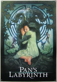 Pan's Labyrinth - rejected poster design by Drew Struzan