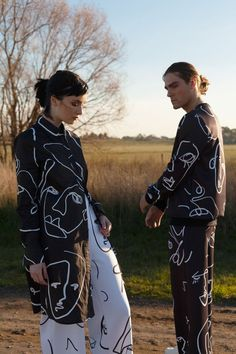 Melbourne based label HEW CLOTHING Summer 2018/2019 Faces a sustainable collection made with organic blends certified by GOTS.