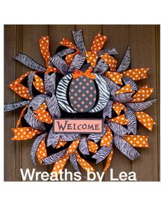 Welcome Halloween! | CraftOutlet.com Photo Contest- Wreaths by Lea