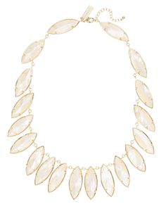 Nalin Marquise Station Collar Necklace by Kendra Scott Jewelry at Gilt