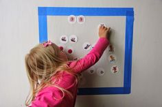 21 AMAZING STICKY WALL ACTIVITIES – HAPPY TODDLER PLAYTIME