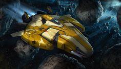 spaceship-002 by ortsmor on DeviantArt