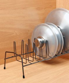 Look at this Kennedy International Lid & Plate Organizer - Set of Two on #zulily today!